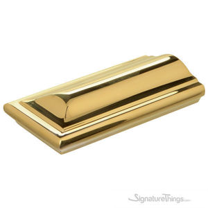 Square End for Brass Cap Rail and Handrail