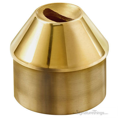 Brass Flush Angle Collar For 2-Inch OD Tubing