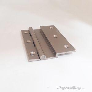 4 Inch Brass L Shaped Door Hinges