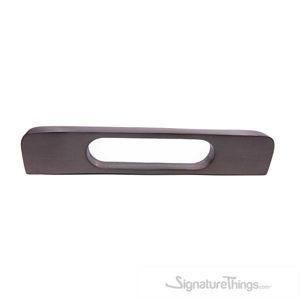 Rounded Rectangular Finger Cabinet Pull