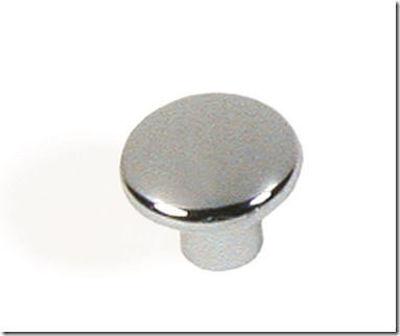 Modern Flat Top Round Cabinet Knob