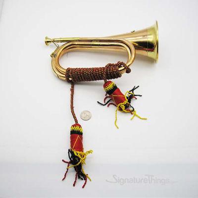 Copper Bugle with Tassel