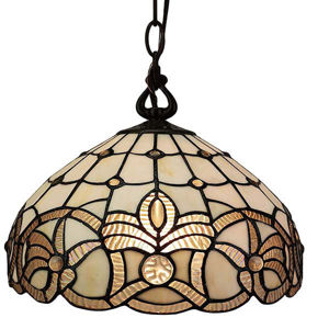 Tiffany Style Floral Hanging Lamp 12 Inches