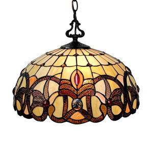 Tiffany Style Hanging Lamp 16 Inches Wide