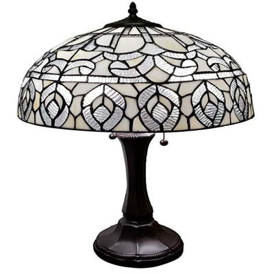 Tiffany style Peacock Design Table Lamp