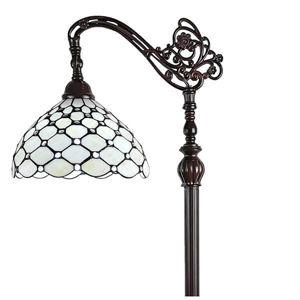 Tiffany Style 62-inch Jeweled Reading Floor Lamp