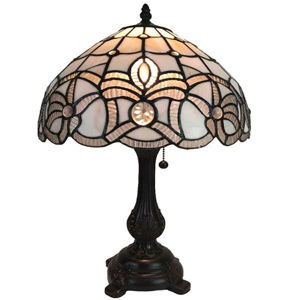 Tiffany-style Floral Design Table Lamp