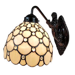 Tiffany Style Wall Lamp 8 In Wide  back to product list