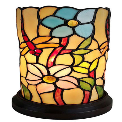 Tiffany Style 10 Inches Tall Dragonfly Mini Table Lamp