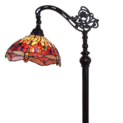 Tiffany Style Dragonfly Reading Floor Lamp 62 In