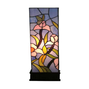 Tiffany Style Floral Table Lamp, Multi