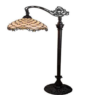 Jeweled Reading Floor Lamp 62 In