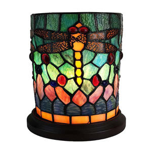 Tiffany Style Accent Table Lamp 8 In Wide
