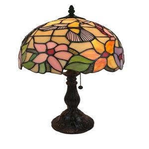 Tiffany Style Hummingbird Design 19-inch Table Lamp