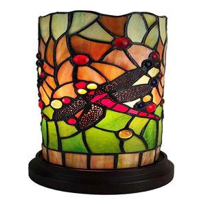 Dragonfly Tiffany Style Mini Table Lamp