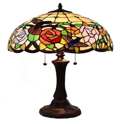 Tiffany Style Table Lamp 24 Inches wide