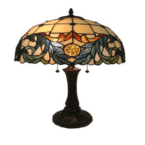 Tiffany Style Multi-Colored Table Lamp