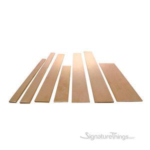 Brass Flat Rectangle