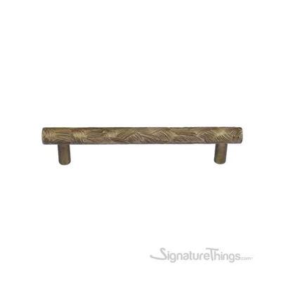Textured Bronze Round Cabinet Pull