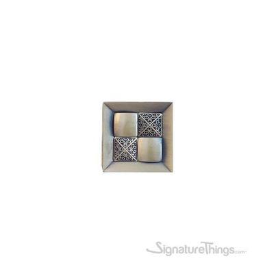 SignatureThings.com Brass Hardware Decorative Brass Block Knob