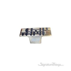Antique Brass Rectangle Cabinet Knob
