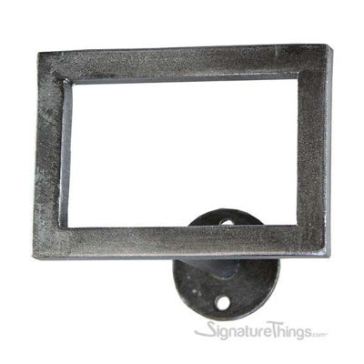 Flat Window Square Swag Holder