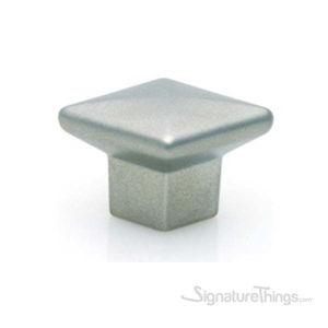 Diamond Shape Knob - Matte Nickel