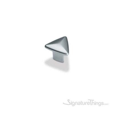 Triangular Shape Knob - Matte Nickel