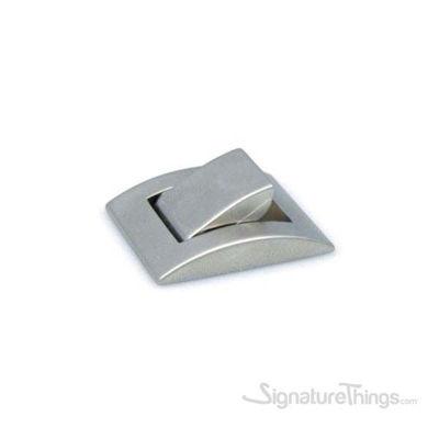 Folding Design Matte Nickel Knob