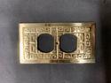 SignatureThings.com Brass Hardware Oriental Switch Plate Single