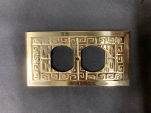 Oriental Switch Plate Outlet