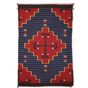 SignatureThings.com Brass Hardware Moki Navajo Rug EJ