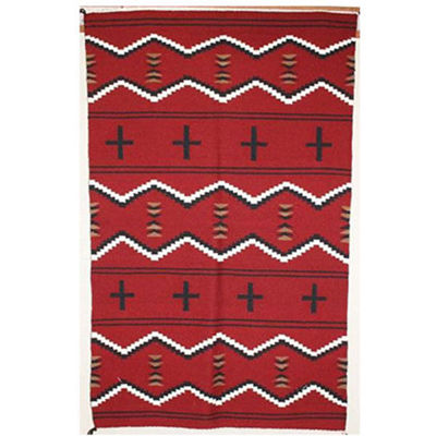 SignatureThings.com Brass Hardware Germantown revival Navajo rug ND