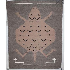 SignatureThings.com Brass Hardware Navajo Pictorial Rug LW