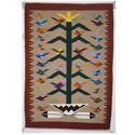 SignatureThings.com Brass Hardware Tree of Life Navajo Rug NO