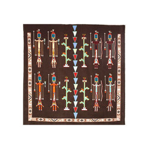 Navajo sandpainting rug 3a