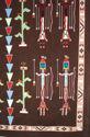 Navajo sandpainting rug 3d