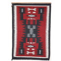 SignatureThings.com Brass Hardware Storm pattern Navajo Rug KB