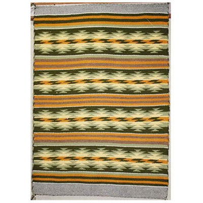 SignatureThings.com Brass Hardware Crystal Navajo Rug KJ