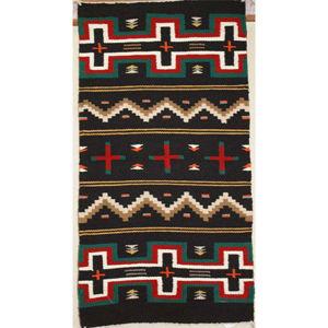 SignatureThings.com Brass Hardware Germantown Navajo Rug BJ
