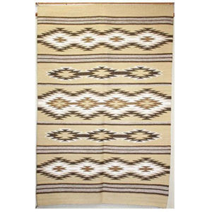SignatureThings.com Brass Hardware Navajo Vegetal Dye Rug GH