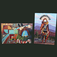 Picture for category Navajo Fine Art Paintings