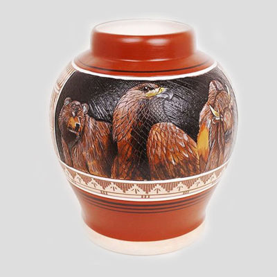 NC Navajo etched pottery Arnold Brown 360