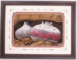Navajo Sand Painting by Navajo artist Bilson Kee #3