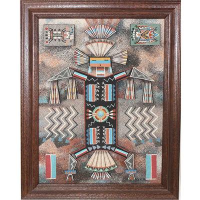 Navajo Sand Painting HT