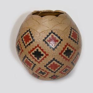 Navajo Pitch Pottery Lorraine Williams #825