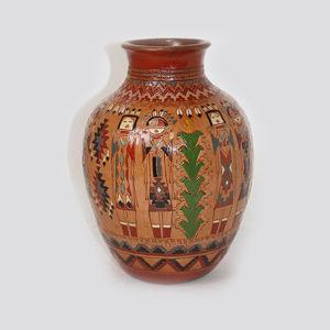 Navajo Pottery Ken and Irene White 675