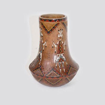 Navajo Pottery Nancy Chilly 300