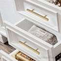 Hexagon Brass Cabinet Handles