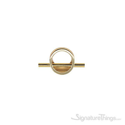 5 Inch Overall Length Finger Pull - Gold Finish